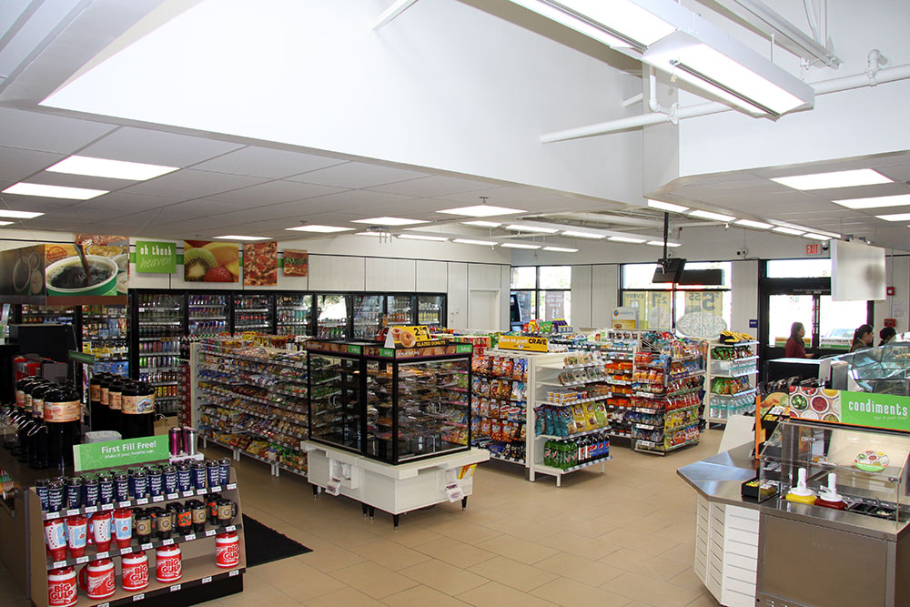 convenience store interior images
