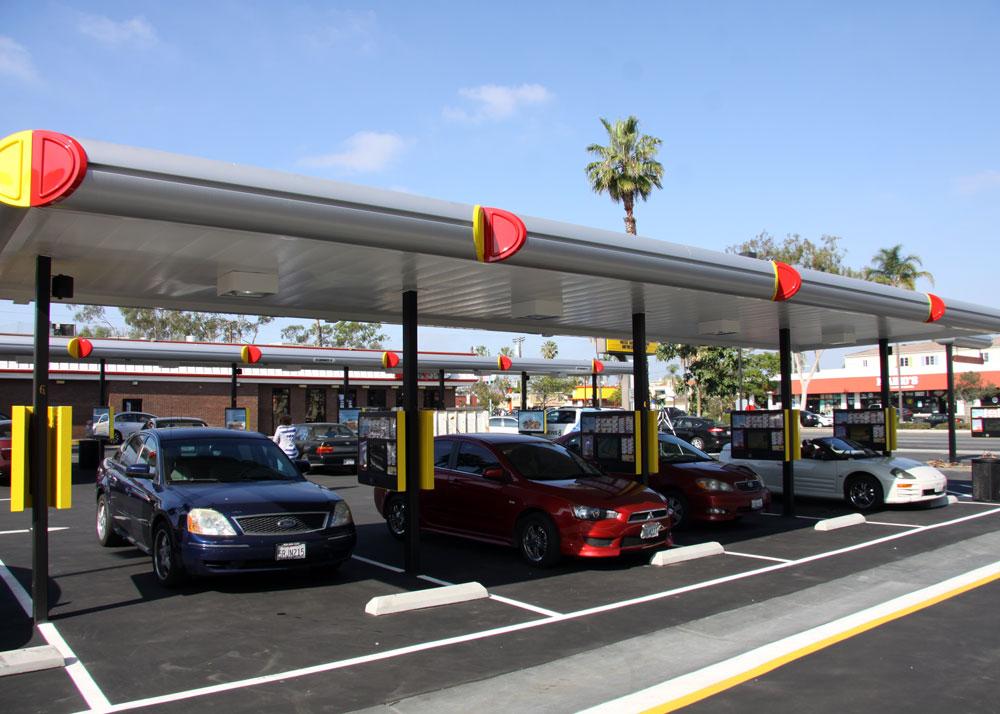 Sonic san diego parking lot spaces los angeles design for Lax long term parking lot