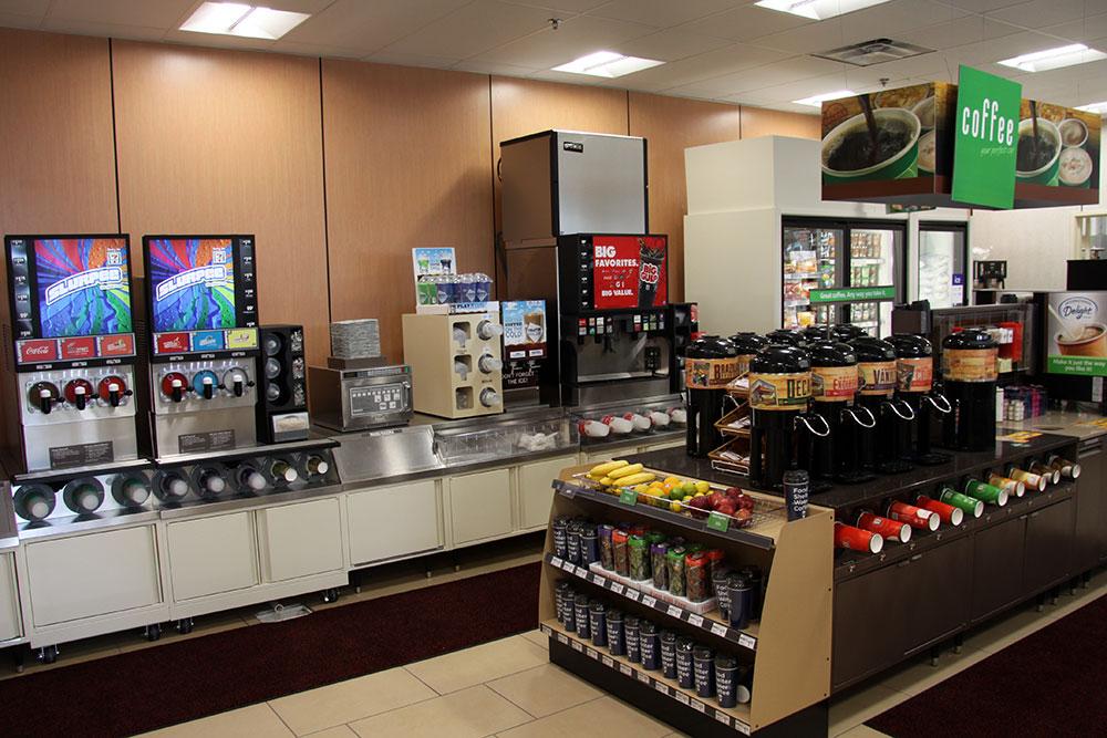 7 Eleven Redlands Convenience Store Interior