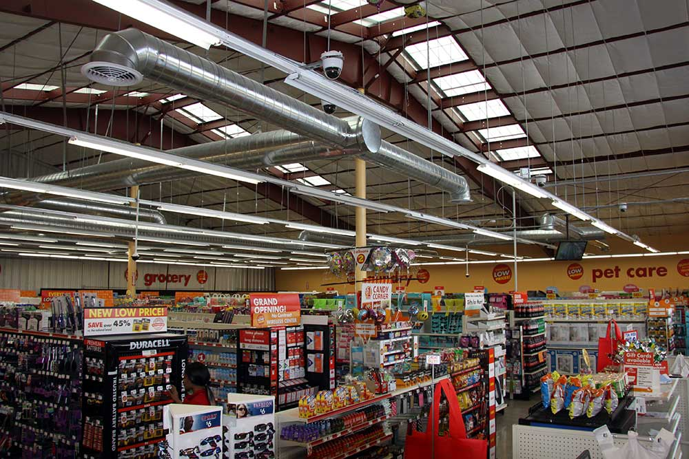 Family dollar interior westmorland los angeles design - Interiors by design family dollar ...