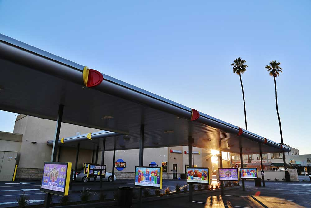 Sonic Drive In Riverside Exterior