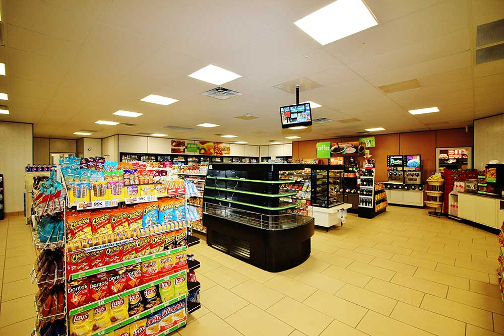 7 Eleven Los Angeles Interior Convenience Store